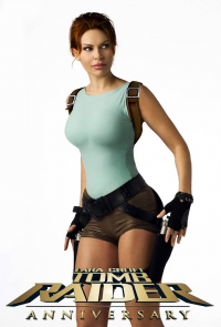 Diana Maria Dorow as Lara Croft