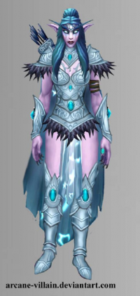 Tyrande Whisperwind from Arcane Villain