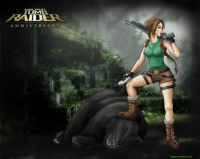 Lara Croft from 8ballz