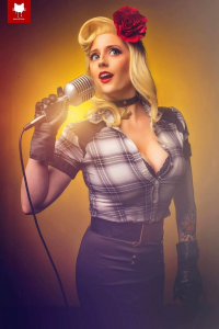 Abby Dark-Star as Black Canary
