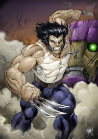 Wolverine from cowboyfromhell0