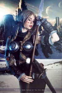 Florencia Jillian Sofen as Valkyrie