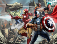 Thor, Iron Man, Captain America, Hulk from Josephz Digitalbrush