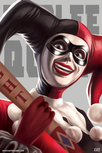 Harley Quinn from Asher Alpay