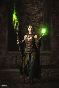 Riza Cosplay as Nissa Revane