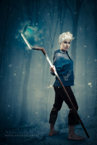 Northern Belle as Jack Frost, Cajun Cosplay as unknown character