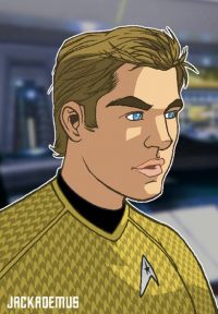 James T. Kirk from Jack Lawrence