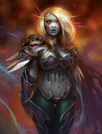 Sylvanas Windrunner from dgreco