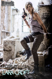 Victoria Garcia as Lara Croft