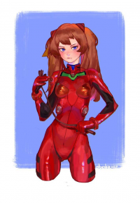 Asuka Langley Soryu from Krisspace