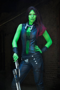 Contagious Costuming as Gamora