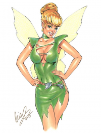 Tinker Bell from Elias Chatzoudis