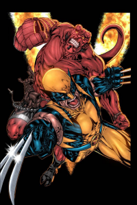 Wolverine, Hellboy from Kyle Ritter
