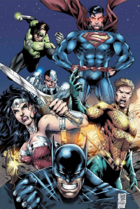 Batman, Superman, Wonder Woman, Green Lantern, Aquaman from Marcio Abreu