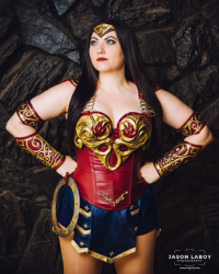 Bernadette Bentley as Wonder Woman/Xena