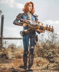 Laura Jansen as Vault Dweller