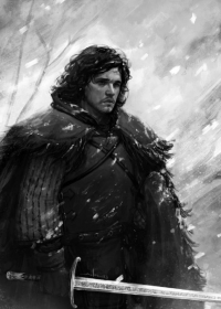 Jon Snow from AndreaMeloni