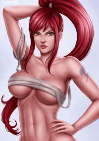 Erza Scarlet from Flowerxl
