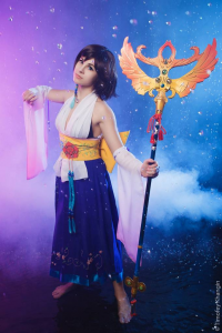 GarnetTilAlexandros as Yuna