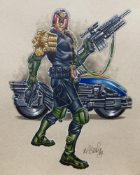 Judge Dredd from Mark Brooks Art