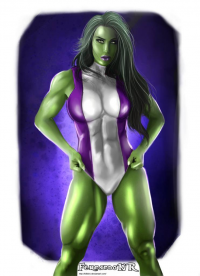 She-Hulk from Fernando Neves Rocha