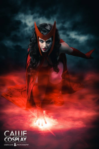 Leah Burroughs as Scarlet Witch