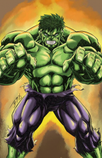 Hulk from Bobby Brian Barredo