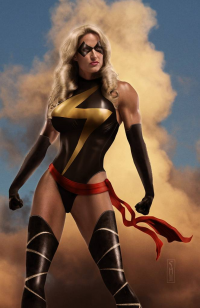 Ms. Marvel from Scott Harben