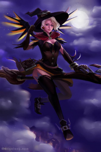 Mercy/Witch from Melody Wang