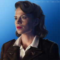 Peggy Carter from Android-sheep