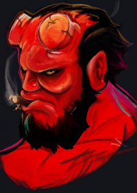 Hellboy from belauanskillz