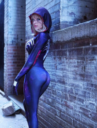 Amouranth - Kaitlyn Siragusa as Gwenom