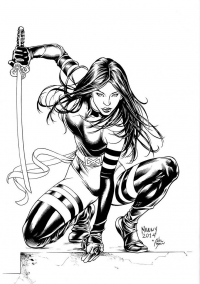 Psylocke from Adriano Di Benedetto