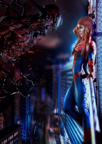 Geeks Guild Entertainment by Coralea Jade as Spider Girl/Mary Jane Watson