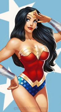 Wonder Woman from Angie Simpson