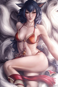 Ahri from Aiva Blue