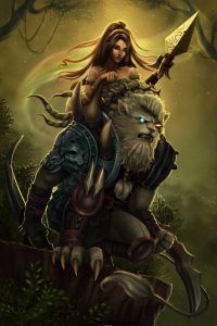 Nidalee, Rengar from Domeano