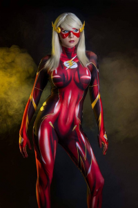 Andy Rae Cosplay as The Flash