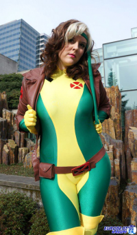Abi Sue Cosplay as Rogue
