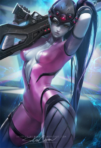 Widowmaker from Sakimi Chan