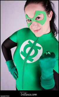 Roxy Lee as Green Lantern