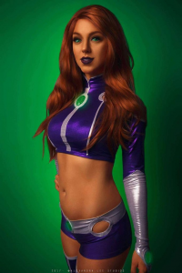 April Gloria as Starfire