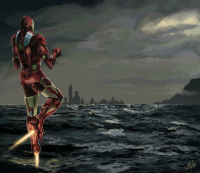 Iron Man from cutnote