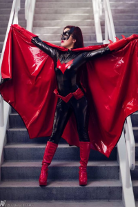 Tracy Desu as Batwoman