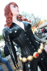 Jenna Lynn Cosplay as Black Widow