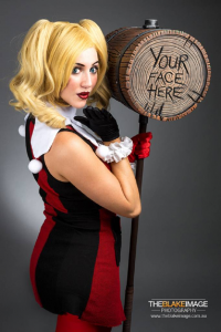 The Artful Dodger as Harley Quinn