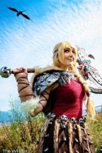 Tarah Rex Cosplay as Astrid Hofferson