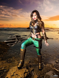 Raquel Sparrow Cosplay as Aquaman