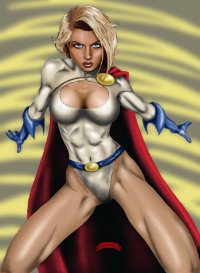 Power Girl from Dan Demille