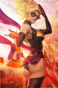 Ms. Marvel from Stanley Lau